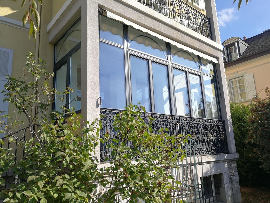 Fermeture de terrasse balcon à Lausanne