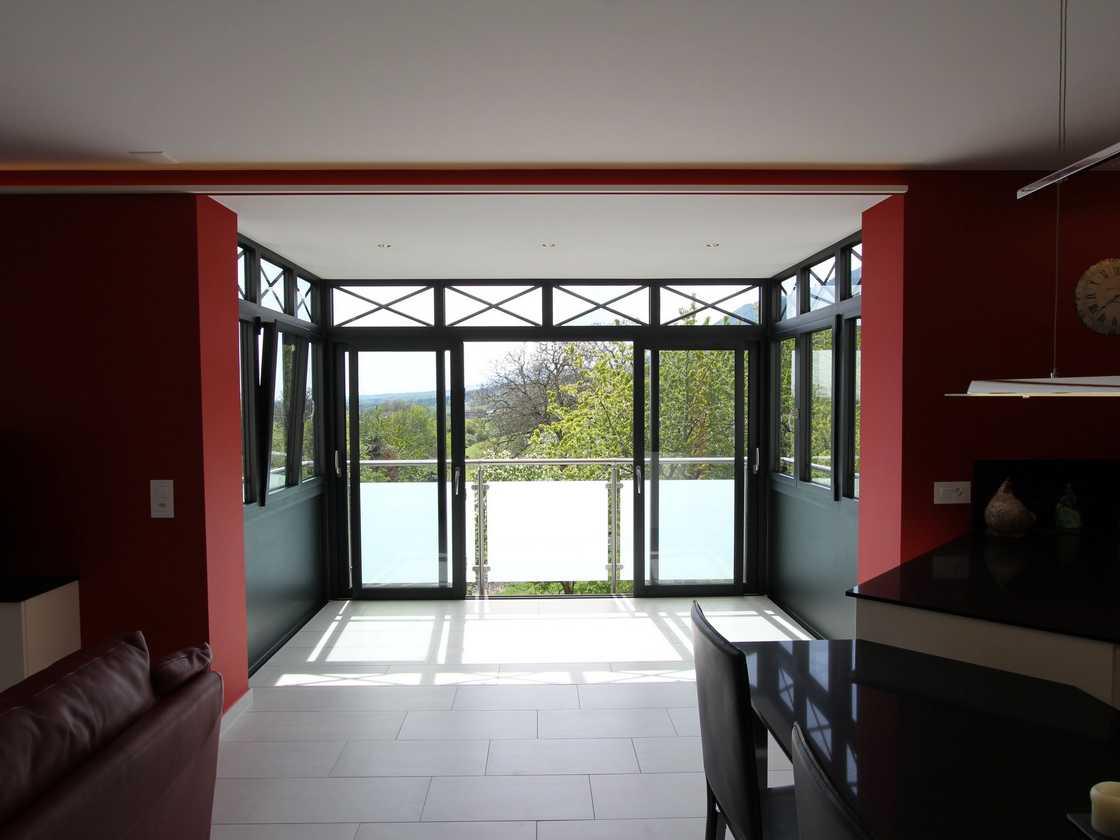 Un balcon habitable à Baulmes